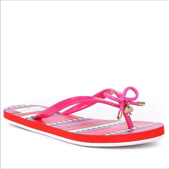 4dfe0d62a New In Box Kate Spade New York Nova Flip Flops